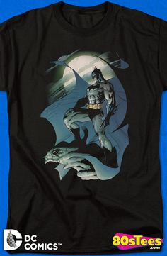 Jim Lee Batman T-Shirt: DC Comics Mens T-Shirt Batman Geeks:  Every day can be special wearing this cool men's style, Jim Lee design shirt with great art and illustration.
