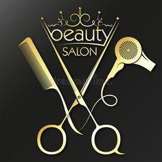 Beauty Salon Logo, Beauty Salon Decor, Beauty Salon Interior, Barber Shop Interior, Barber Shop Decor, Modele Flyer, Hair Salon Stations, Hair Salon Logos, Salon Design