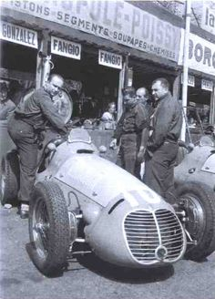 F1 1950 - Extra-championship - French GP - Pau - Maserati 4CLT-48 - Juan Manuel Fangio