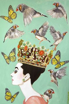 Artist Ashley Longshore via the Scout Guide