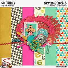 So Quirky Mini Kit by Snips and Snails Designs