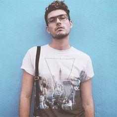 Sommer 2017 Männer top / T-Shirt / T shirt  NYC / New York City - online mode shoppen - Mann Outfit 2017