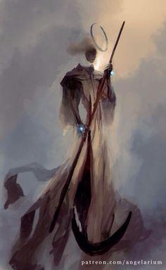 Remiel, Angel of Hope (concept) www.patreon.com/angelarium