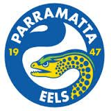 Parramatta Eels Striped Wallpaper by Sunnyboiiii (Blue Yellow) Football Logo Design, Football Team Logos, Sports Team Logos, Football Pictures, Sports Pictures, Striped Wallpaper Blue, National Rugby League, Rugby Sport, Team Mascots