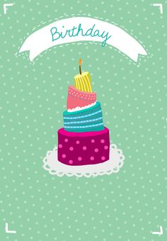 Free Printable Its Your Birthday Make A Wish Greeting Card