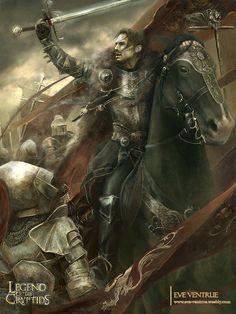 """Gawain - Advanced"" by Eve Ventrue (EVentrue)   Legend Of The Cryptids   #Fantasy #Knights"