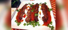 Chiftelute turcesti din carne de strut cu sos de iaurt si rosii - Chef pentru o zi Mai, Meatloaf, Food, Meat Loaf, Meals, Yemek, Eten