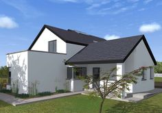 Two Storey Dormer Dwelling House – House Designs Ireland, Old School House, Irish Traditions, Story House, Exterior Design, Building A House, House Plans, Farmhouse, Traditional