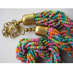 Fashion Necklace/Costume Jewelry/Statement por FootSoles en Etsy