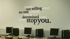 Determined To Learn Wall from www.tradingphrase… What a powerful and Determined To Learn Wall from www.tradingphrase… What a powerful and it would be awesome in a or Classroom Quotes, Classroom Walls, Classroom Posters, Classroom Design, Classroom Organization, Classroom Decor, Organizing School, School Hallways, School Murals