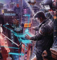 Encounters : Shadowrun Art by Victor Manuel Leza