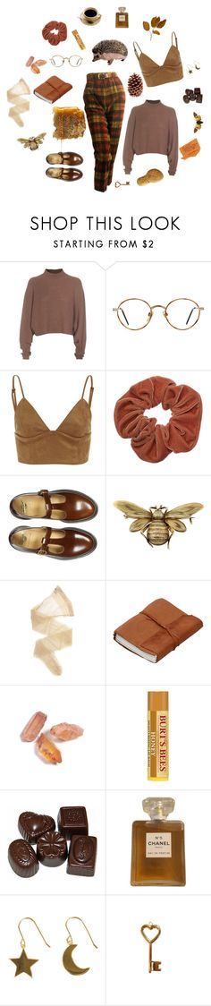 """prickly pear"" by vvirggo ❤ liked on Polyvore featuring Acne Studios, GlassesUSA, Dr. Martens, Wolford, Dollydagger, Chanel and SOPHIE by SOPHIE"