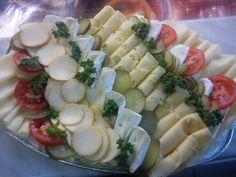 Obložené mísy :: Večerka - Pastelka Finger Foods, Pasta Salad, Good Food, Brunch, Appetizers, Snacks, Breakfast, Ethnic Recipes, Crab Pasta Salad