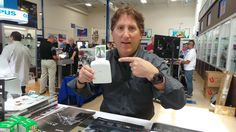 Brandon Remler and the instax SHARE printer