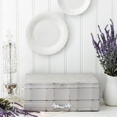 Turn an old flatware box into a beautiful storage piece to house your jewelry, cosmetics, or other treasures.