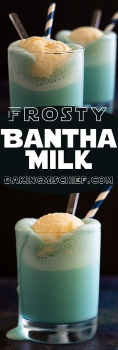 This Frosty Bantha Milk is super easy to make and perfect for your next Star Wars Party!