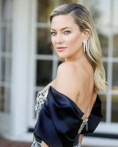 Kate Hudson, Fancy Hairstyles, Wedding Hairstyles, Goldie Hawn Kurt Russell, Anya Taylor Joy, Elle Fanning, Shoulder Length Hair, Golden Globes, Hair Lengths
