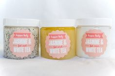 Bridesmaid Gift: Jasmine & White Tea Foot Spa Set https://www.etsy.com/listing/217390303/happee-body-jasmine-white-tea-foot-spa
