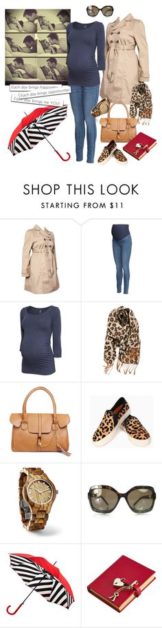 """""""Maternity Capsule Wardrobe: #06"""" by jensmith1228 ❤ liked on Polyvore featuring Mama.licious, H&M, BP., Fieldcrest, Chanel, Lulu Guinness, Graphic Image, women's clothing, women's fashion and women"""