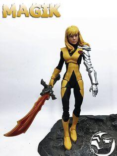 "Custom Marvel Legends MAGIK 6"" Figure by LEECH Customs   Toys & Hobbies, Action Figures, Comic Book Heroes   eBay!"