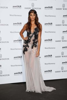 Joan Smalls in Atelier Versace