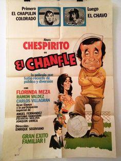 El Chanfle poster, 1979