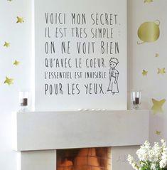 Le Petit Prince - Le secret Adhésif mural