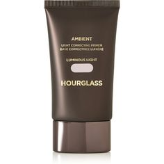 Hourglass Ambient Light Correcting Primer - Luminous Light, 30ml (74 CAD) ❤ liked on Polyvore featuring beauty products, makeup, face makeup, makeup primer, pink and hourglass cosmetics