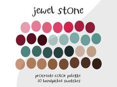 Ipad Pro Tips, Jewel Colors, Color Swatches, Color Pallets, One Color, Color Inspiration, Tropical, Photoshop, App
