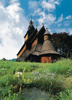 Norway: Hopperstad stave church built around 1130