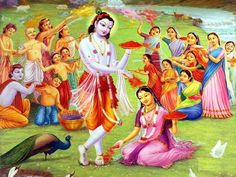 Holi images for radha krishna 2019 are waiting for you with this article. After reading this gorgeous article you come to know everything about holi festival Radha Krishna Holi, Krishna Lila, Radha Krishna Pictures, Krishna Photos, Krishna Art, Lord Krishna, Radhe Krishna, Shree Krishna, History Of Holi