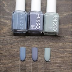 Essie: Truth or Flare // Essie: Pedal Pushers // Essie: Maximillian Strasse Her . Essie: Truth or Flare // Essie: Pedal Pushers // Essie: Maximillian Strasse Her Love Nails, How To Do Nails, Fun Nails, Essie Nail Polish, Nail Polish Colors, Nail Polishes, Essie Colors, Nagellack Design, Colorful Nail Designs