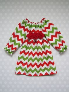 Hey, I found this really awesome Etsy listing at http://www.etsy.com/listing/162524832/baby-girl-christmas-chevron-dress-red