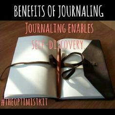 Do you keep a journal? Journaling can be a tool for self discovery and acceptance.