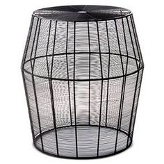 Linhigh End Table Woven Wire - Threshold™ : Target