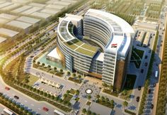 2c7c10e23737 BASRA- This is the rendering for the New Basra Governorate Building. Dewan  Architects are behind the project.