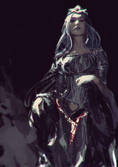 Amarantha - Lady Lafresia art by AldgerRelpa