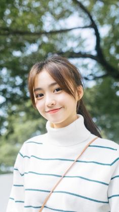Beautiful Japanese Girl, Beautiful Young Lady, Beautiful Asian Girls, Cute Asian Girls, Cute Girls, Cute Kawaii Girl, Asian Model Girl, Kawaii Hairstyles, Ulzzang Korean Girl