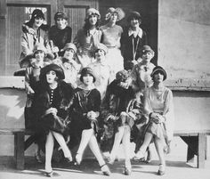 The WAMPAS Baby Stars of 1926. Top row, left to right: Mary Astor, Dolores Costello, Fay Wray, Marceline Day, Mary Brian. Middle row: Janet Gaynor, Sally O'Neill, Vera Reynolds, Edna Marian. Bottom row: Joan Crawford,Dolores Del Rio, Joyce Compton, Sally Long