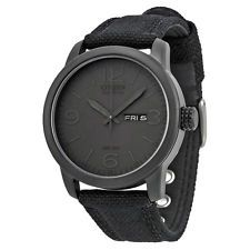 Citizen Men's BM8475-00F Black Canvas Strap Eco-Drive Watch