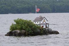 Becky's Garden Island, Lake Winnipesaukee NH - smallest island on the lake!