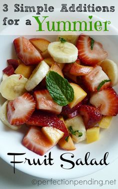 3 Simple Additions for a Yummier Fruit Salad