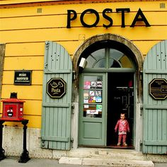 Post Office in Hungary.