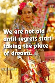 ☮ American Hippie ☮ Not old yet!         [Image: Pinterest]
