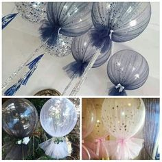 Balon//süsleme Balloon Decorations, Table Decorations, First Tooth, Fundraising, Party Themes, Origami, Glass Vase, Balloons, Birthday Cake