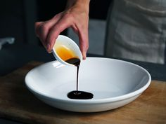 Black Garlic Puree tsp ground ginger tsp ground cumin dash of salt and pepper Maple Balsamic, Balsamic Vinegar, Seitan, Balsamic Vinaigrette Recipe, Recipe Sheets, Black Garlic, Valeur Nutritive, Slow Food, Gourmet