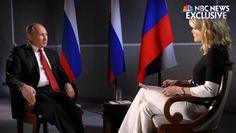 Megyn Kelly Drills Vladimir Putin on Presidential Election Hack, Russia's Ties With Trump (Video)