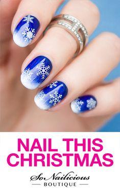 Best Tutorials On Snowflake Nails Designs Nail Tutorials