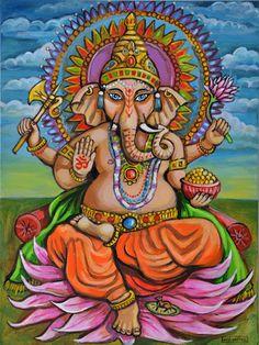 Ganesha  Print by kirayustak on Etsy, $12.00