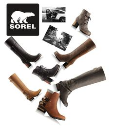 """Kick Up the Leaves (Stylishly) With SOREL: CONTEST ENTRY"" by roseruby123 ❤ liked on Polyvore featuring SOREL and sorelstyle"